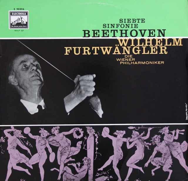 フルトヴェングラーのベートーヴェン/交響曲第7番  独EMI 3131 LP レコード