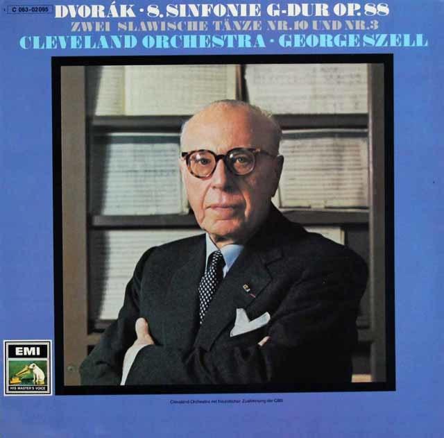 セルのドヴォルザーク/交響曲第8番ほか 独EMI 3131 LP レコード