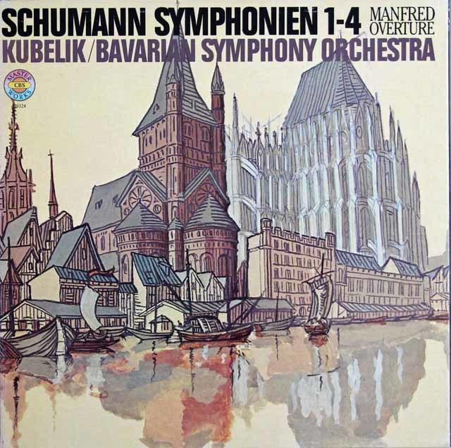 クーベリックのシューマン/交響曲全集  独CBS 3131 LP レコード