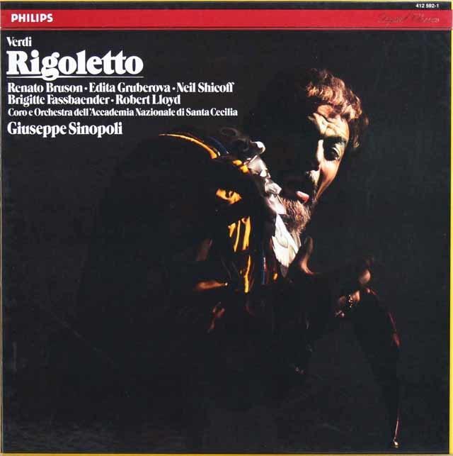 シノーポリのヴェルディ/「リゴレット」全曲 蘭PHILIPS 3131 LP レコード