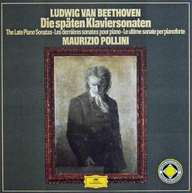 ポリーニのベートーヴェン/後期ピアノソナタ集 独DGG 3131 LP レコード
