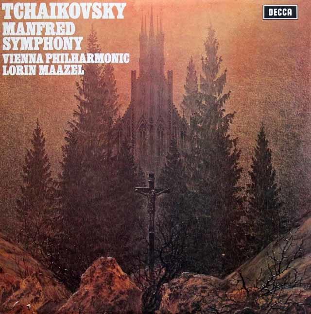 【オリジナル盤】 マゼールのチャイコフスキー/マンフレッド交響曲 英DECCA 3132 LP レコード