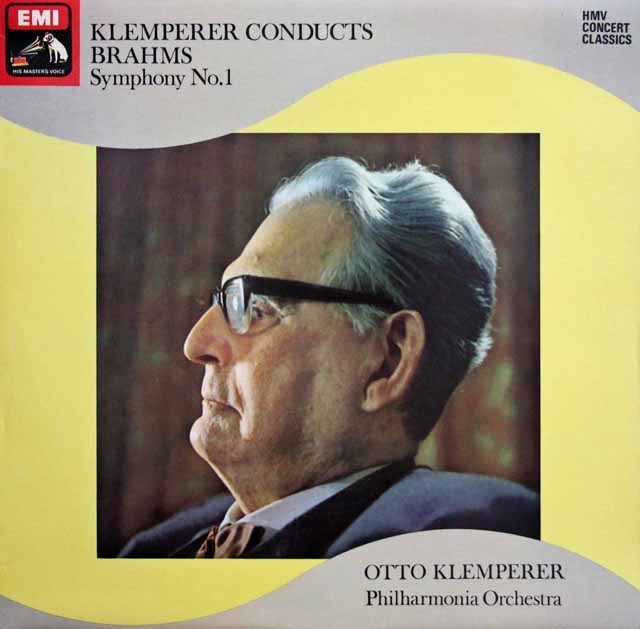 クレンペラーのブラームス/交響曲第1番 英EMI 3132 LP レコード
