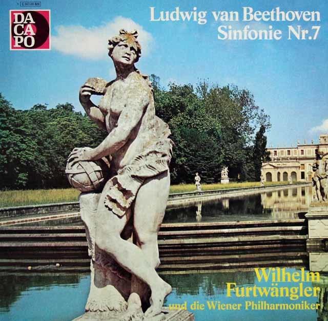 フルトヴェングラーのベートーヴェン/交響曲第7番 独EMI 3132 LP レコード
