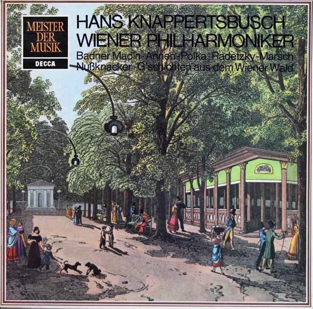 クナッパーツブッシュのチャイコフスキー/組曲「くるみ割り人形」ほか 独DECCA 3132 LP レコード