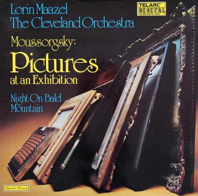 マゼールのムソルグスキー/「展覧会の絵」ほか 独TELARC 3132 LP レコード