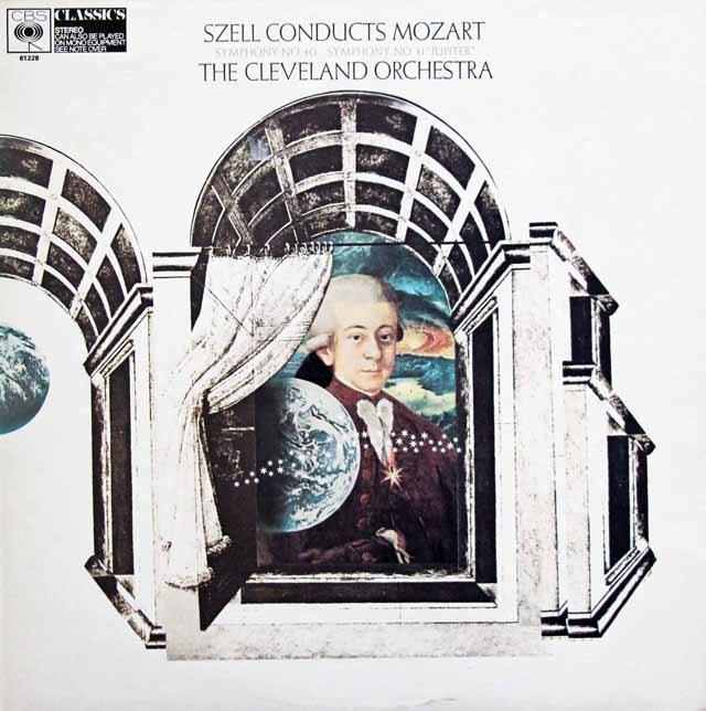 セルのモーツァルト/交響曲第40&41番「ジュピター」 英CBS  3132 LP レコード