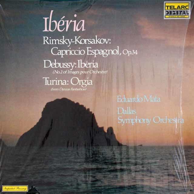 マータのリムスキ-=コルサコフ/「スペイン奇想曲」ほか 独TELARC 3133 LP レコード