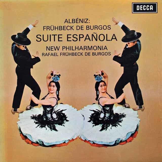 【オリジナル盤】デ・ブルゴスのアルベニス/スペイン組曲 英DECCA 3133 LP レコード