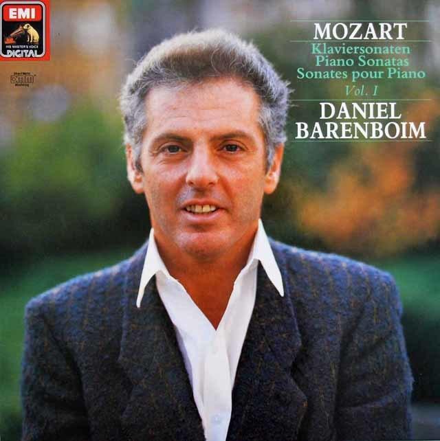 バレンボイムのモーツァルト/ピアノ・ソナタ全集 独EMI 3133 LP レコード