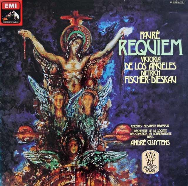 クリュイタンスのフォーレ/「レクイエム」 独ELECTROLA 3133 LP レコード