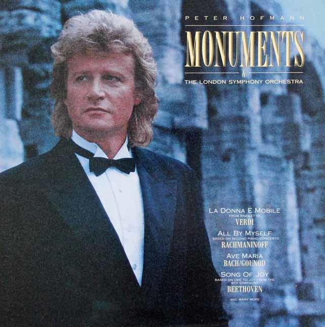 ペーター・ホフマンの「モニュメンツ」 蘭CBS 3133 LP レコード