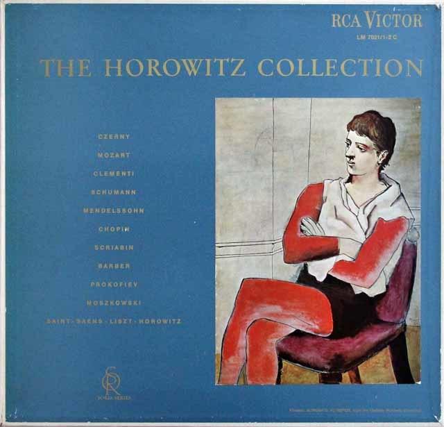 【ソリア・シリーズ】 「ザ・ホロヴィッツ・コレクション」 英RCA 3133 LP レコード