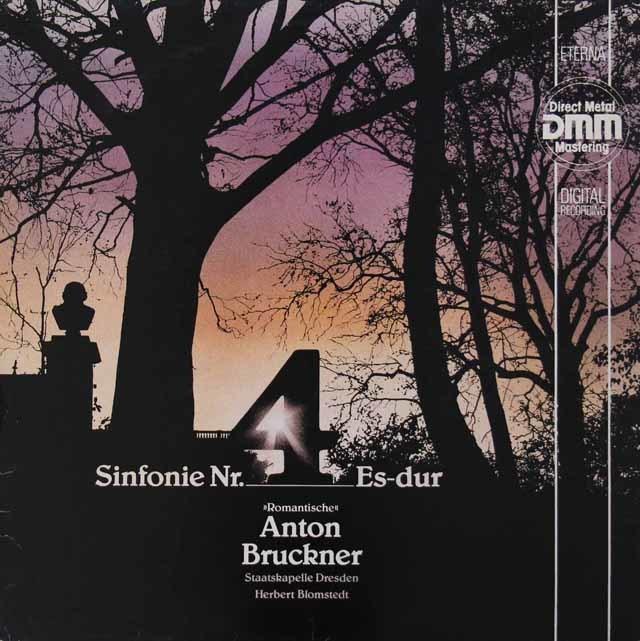ブロムシュテットのブルックナー/交響曲第4番「ロマンティック」 独ETERNA 3134 LP レコード