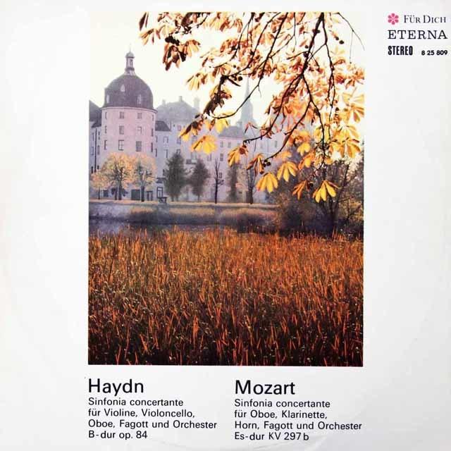 ノイマン&スウィトナーのハイドン&モーツァルト/協奏交響曲 独ETERNA 3134 LP レコード