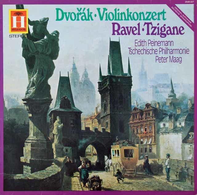 パイネマン&マークのドヴォルザーク/ヴァイオリン協奏曲ほか 独HELIODOR 3134 LP レコード