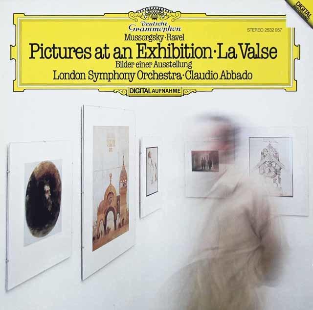 アバドのムソルグスキー/「展覧会の絵」ほか 独DGG 3134 LP レコード
