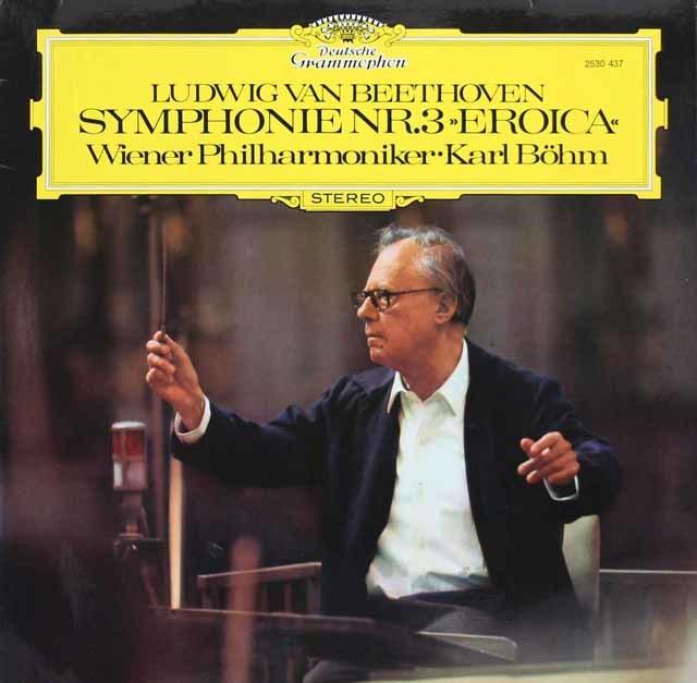 ベームのベートーヴェン/交響曲第3番「英雄」 独DGG 3134 LP レコード
