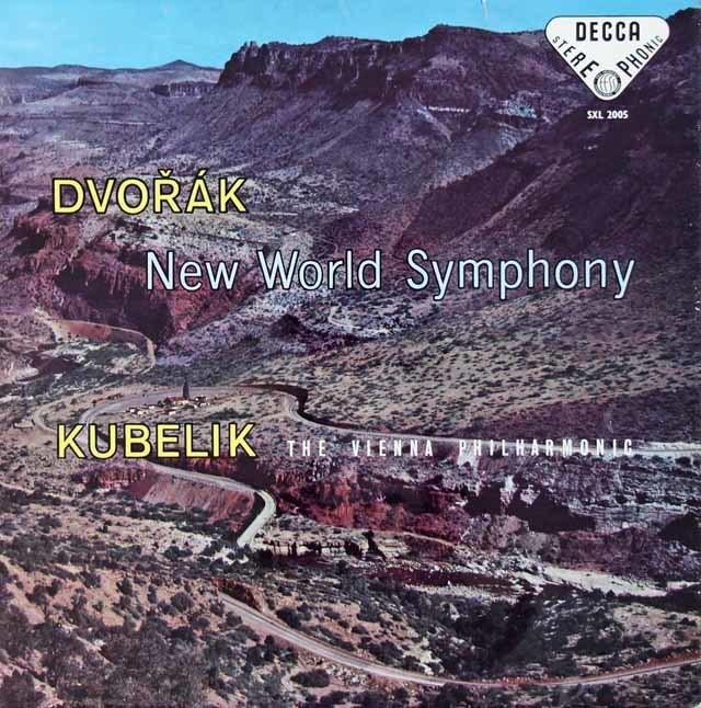 【オリジナル盤】クーベリックのドヴォルザーク/交響曲第9番「新世界より」 英DECCA 3134 LP レコード