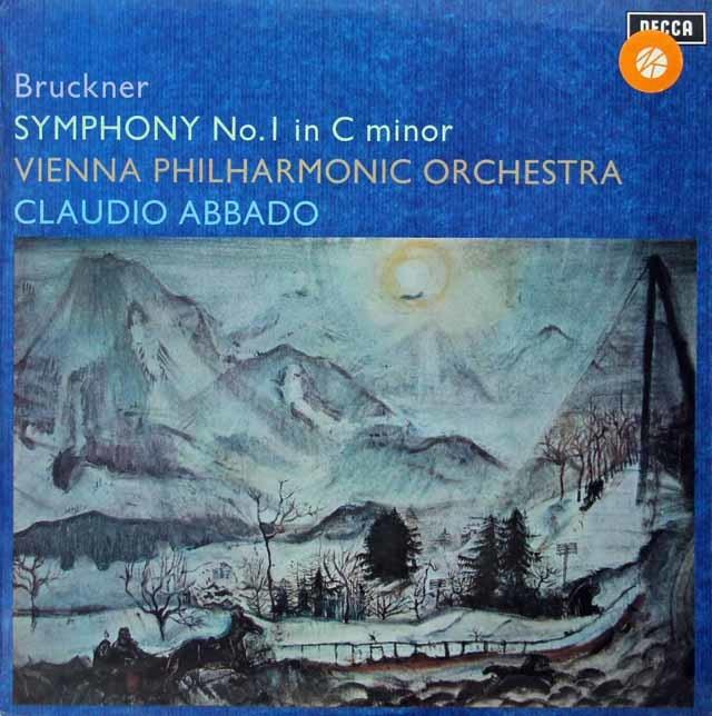 【オリジナル盤】アバドのブルックナー/交響曲第1番 英DECCA 3134 LP レコード