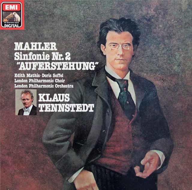 テンシュテットのマーラー/交響曲第2番「復活」 独EMI 3134 LP レコード