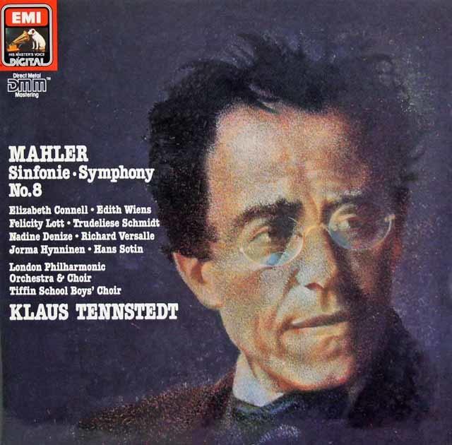テンシュテットのマーラー/交響曲第8番 独EMI 3134 LP レコード