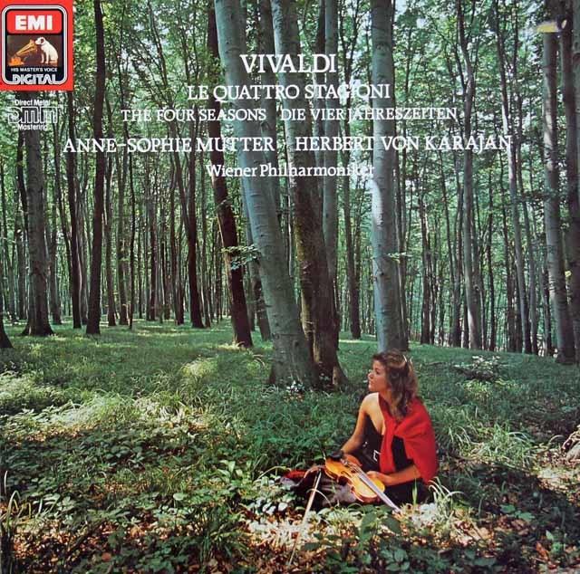 ムター&カラヤンのヴィヴァルディ/「四季」 独EMI 3134 LP レコード