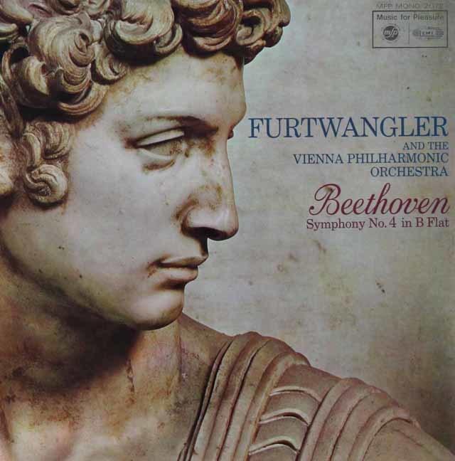 フルトヴェングラーのベートーヴェン/交響曲第4番 英EMI 3134 LP レコード