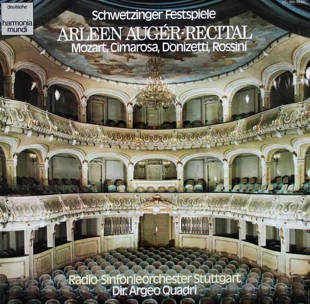 オジェーのモーツァルト、ドニゼッティ、ロッシーニ/オペラアリア集ほか 独HM 3134 LP レコード
