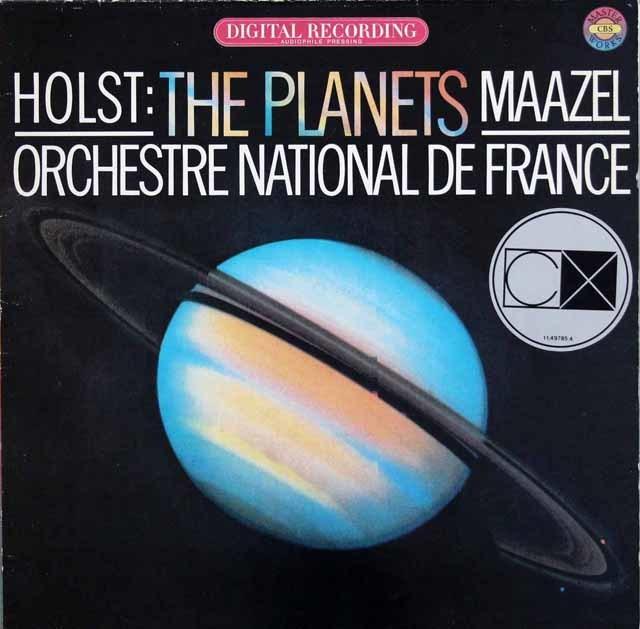 マゼールのホルスト/組曲「惑星」 独CBS 3135 LP レコード