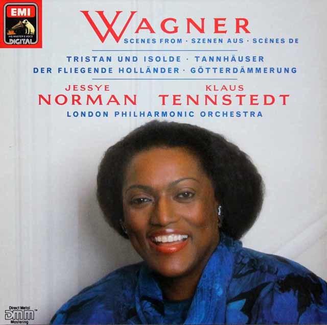 ノーマン&テンシュテットのワーグナー/アリア集 独EMI   3135 LP レコード
