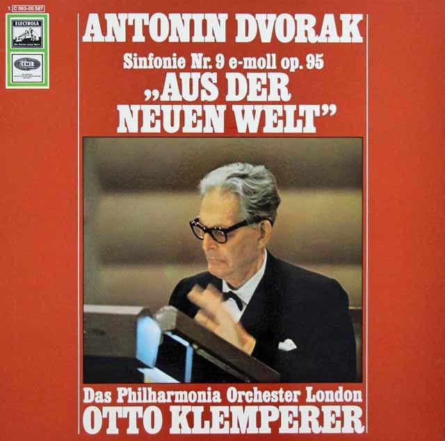 クレンペラーのドヴォルザーク/交響曲第9番「新世界より」 独EMI 3135 LP レコード