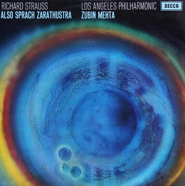 【オリジナル盤】メータのR.シュトラウス/「ツァラトゥストラはかく語りき」 英DECCA 3135 LP レコード