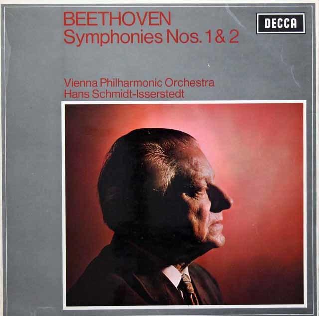 【オリジナル盤】イッセルシュテットのベートーヴェン/交響曲第1 & 2番 英DECCA 3135 LP レコード