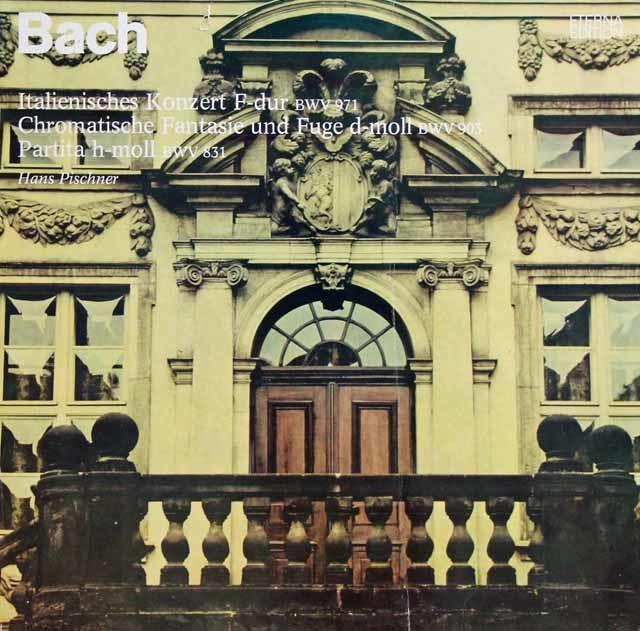 ピシュナーのバッハ/イタリア協奏曲 ヘ長調ほか 独ETERNA 3135 LP レコード