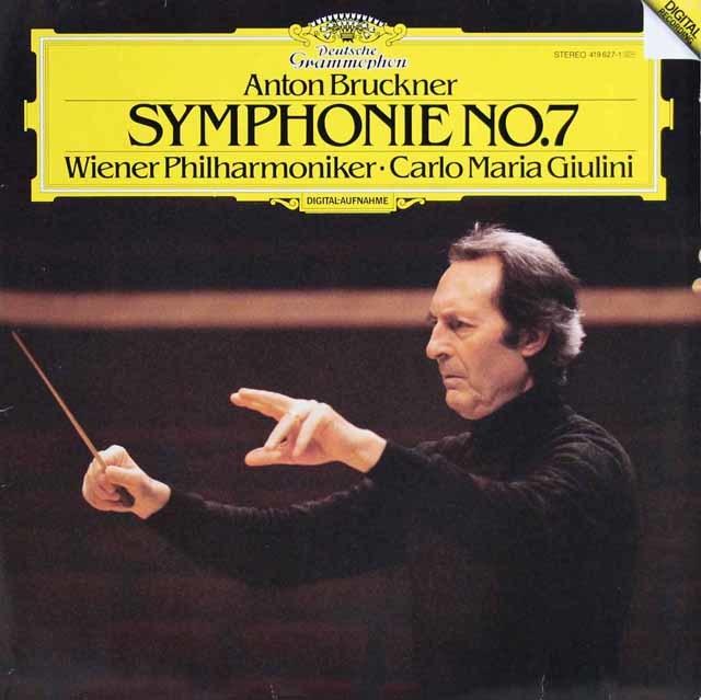 ジュリーニのブルックナー/交響曲第7番 独DGG 3136 LP レコード