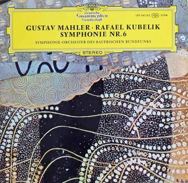 クーベリックのマーラー/交響曲第6&10番 独DGG 3136 LP レコード