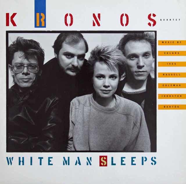 クロノス・クァルテットの「ホワイト・マン・スリープス」 独NONESUCH 3136 LP レコード