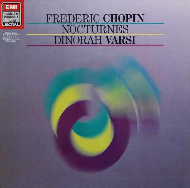 ヴァルシのショパン/夜想曲集 独EMI 3136 LP レコード