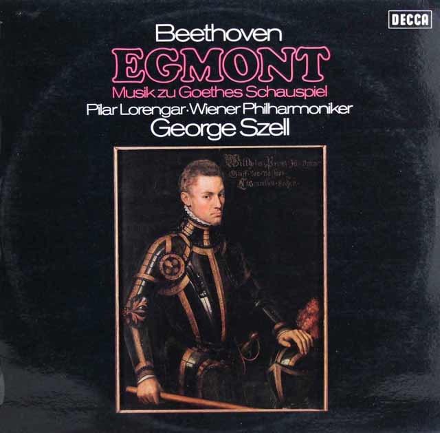 セルのベートーヴェン/劇音楽「エグモント」 独DECCA 3136 LP レコード