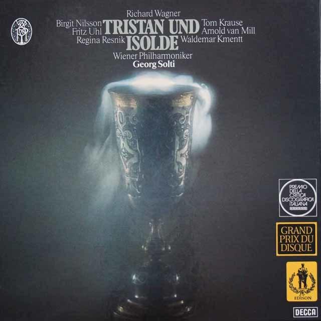 ショルティのワーグナー/「トリスタンとイゾルデ」全曲 独DECCA 3136 LP レコード