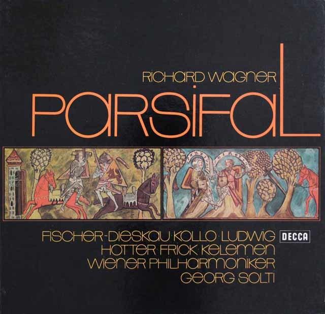 ショルティのワーグナー/「パルジファル」全曲 独DECCA 3136 LP レコード