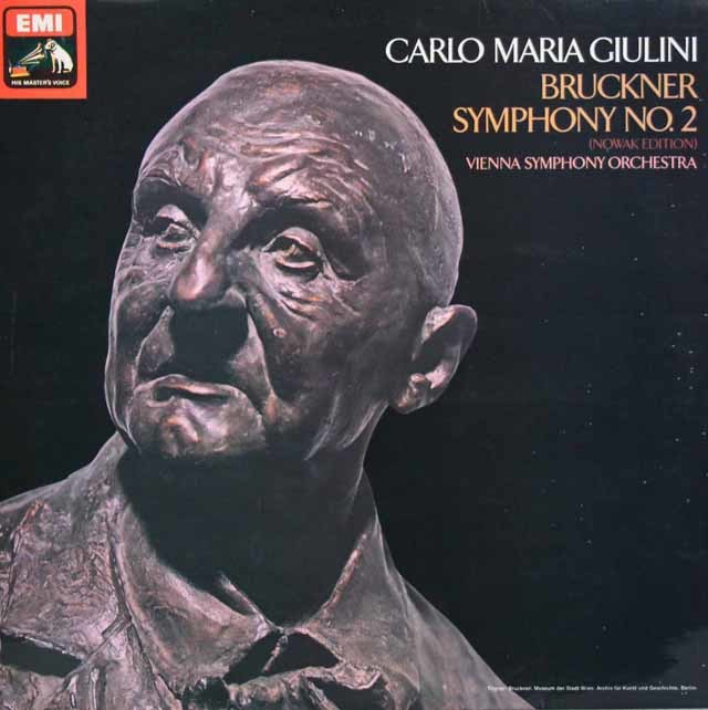 【オリジナル盤】ジュリーニのブルックナー/交響曲第2番 英EMI 3137 LP レコード