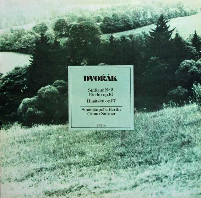 スウィトナーのドヴォルザーク/交響曲第3番ほか 独ETERNA 3137 LP レコード