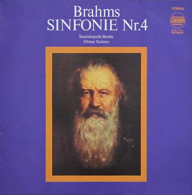 スウィトナーのブラームス/交響曲第4番 独ETERNA 3137 LP レコード