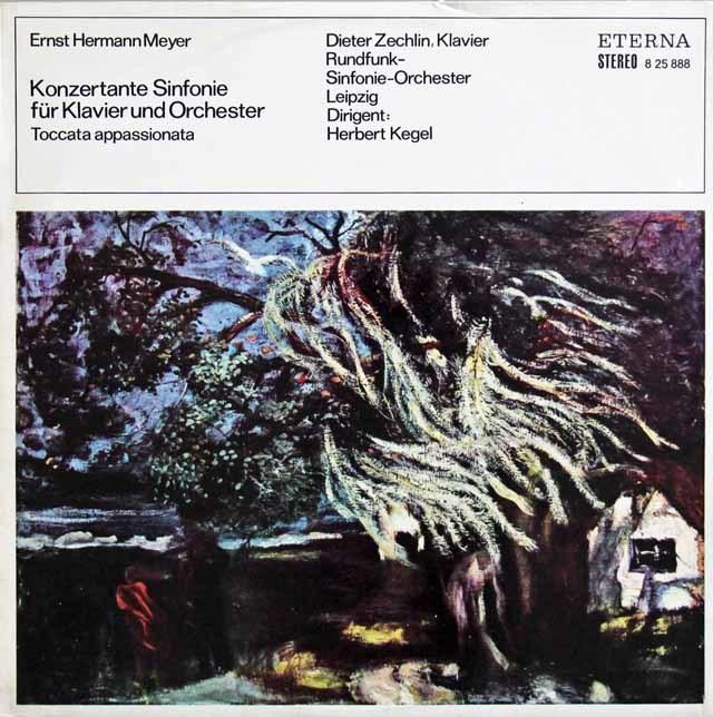 【テストプレス】ツェヒリン&ケーゲルのマイアー/ピアノと管弦楽のための協奏交響曲ほか 独ETERNA 3137 LP レコード