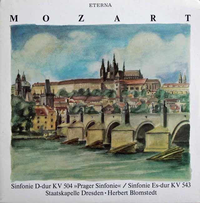 ブロムシュテットのモーツァルト/交響曲第38番「プラハ」&第39番 独ETERNA 3137 LP レコード