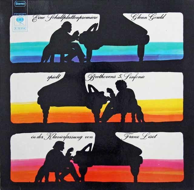 グールドのベートーヴェン/交響曲第5番 独CBS 3137 LP レコード