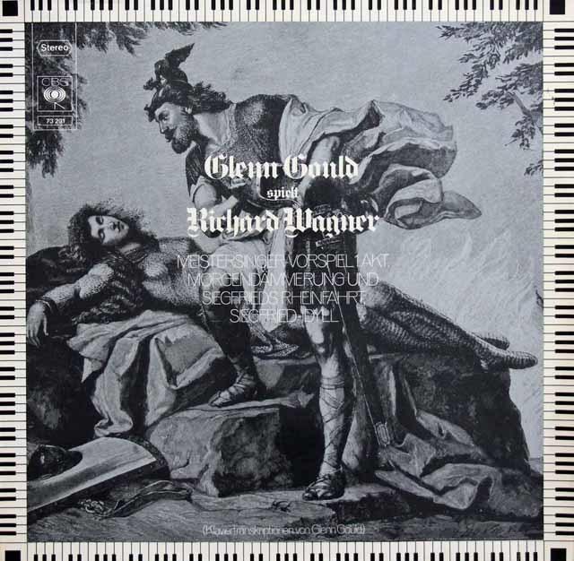 グールドのワーグナー/ピアノ・トランスクリプション集 独CBS 3137 LP レコード
