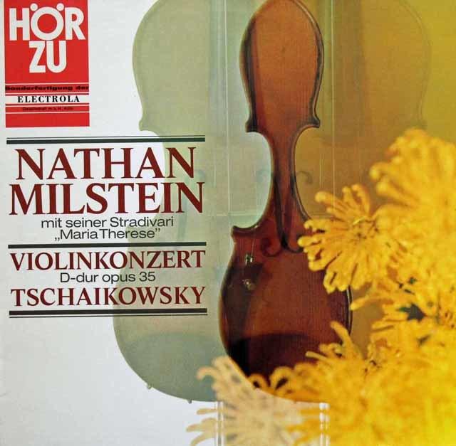 ミルシュタイン&スタインバーグのチャイコフスキー/ヴァイオリン協奏曲  独HOERZU(EMI) 3137 LP レコード